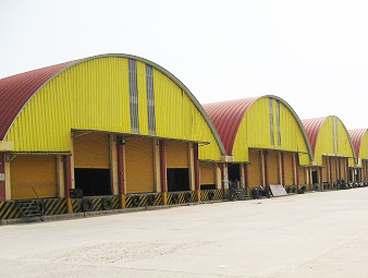 Warehouses on Govt. approved land