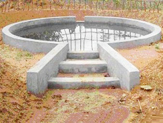 Water harvesting facility