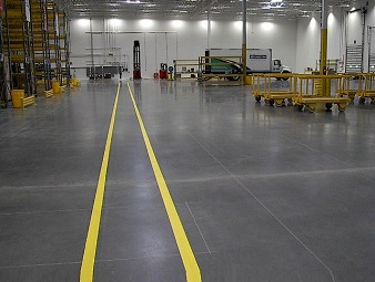 Vacuum De-Watered (VDF) flooring with max, floor load of 6 tonnes / m2 (sqm)